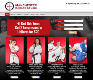 martial arts sites
