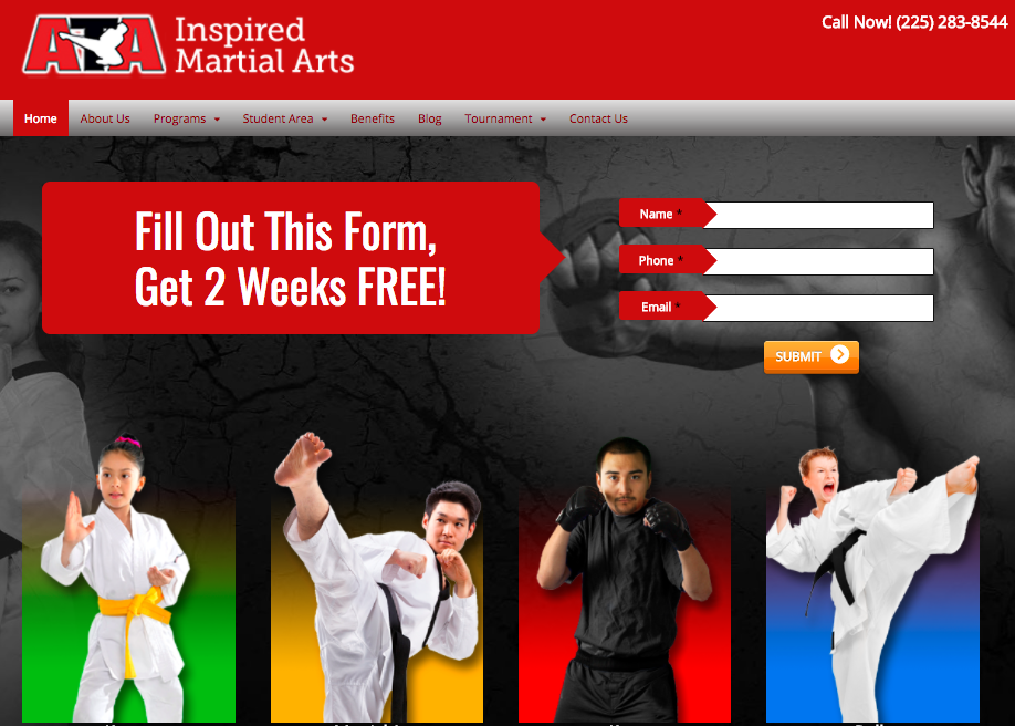 Denham Springs ATA Martial Arts: Site of the week