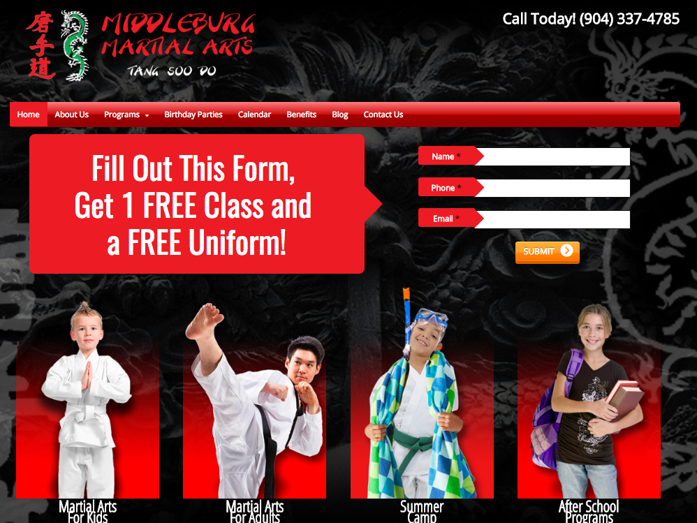 Middleburg Martial Arts Lappin Client of the Week