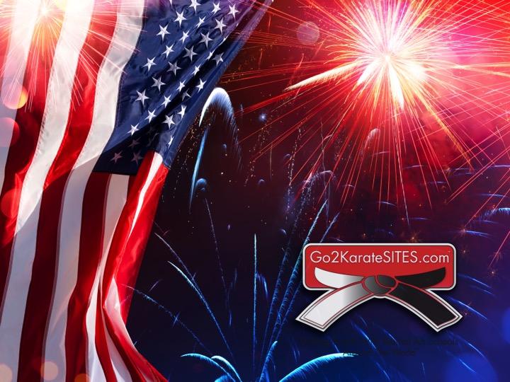 4th of July Go2KarateSites