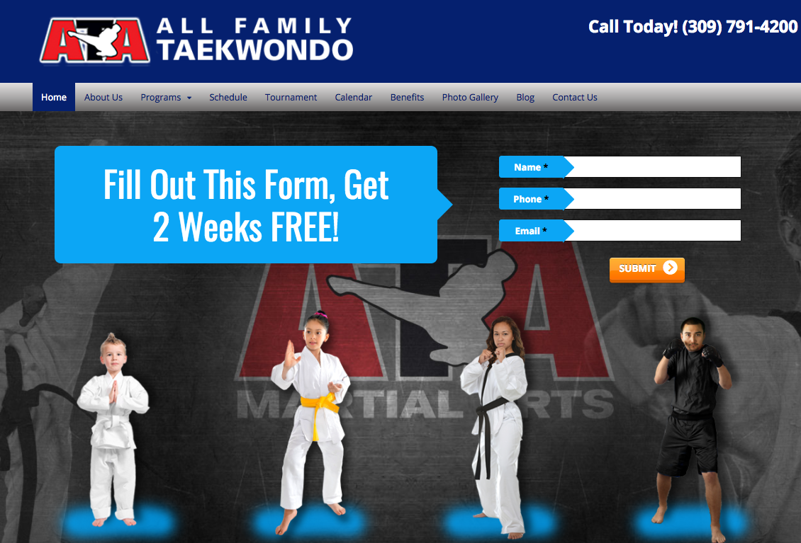All Family Taekwondo Linnabery