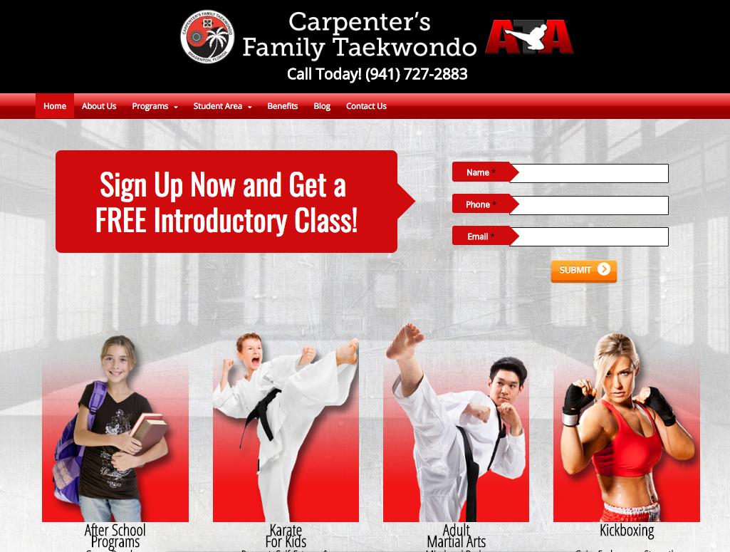 Carpenters Family Taekwondo