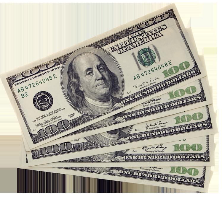 $500 dollar bills